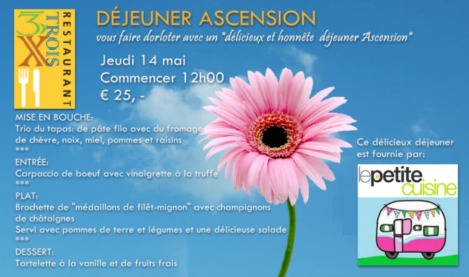 Déjeuner Ascension